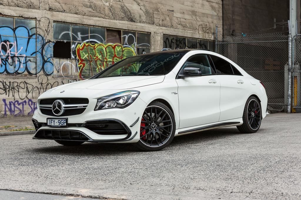 Mercedes Amg Cla 45 2017 Review