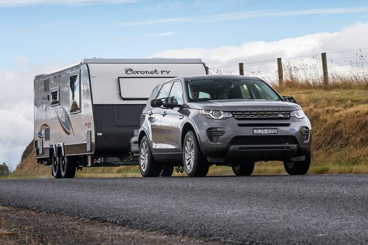 land rover discovery sport 2017 tow test. Black Bedroom Furniture Sets. Home Design Ideas