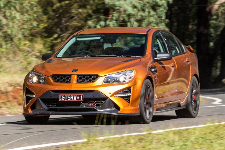 HSV GTSR W1 2017 Review - motoring com au