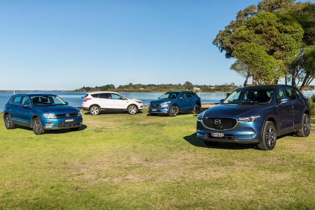Medium Suv Comparison Motoring Com Au