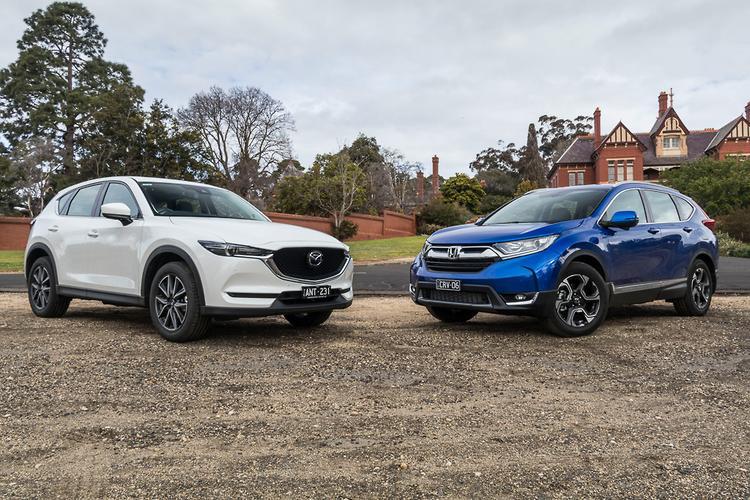 Honda CR V V Mazda CX 5 2017 Comparison