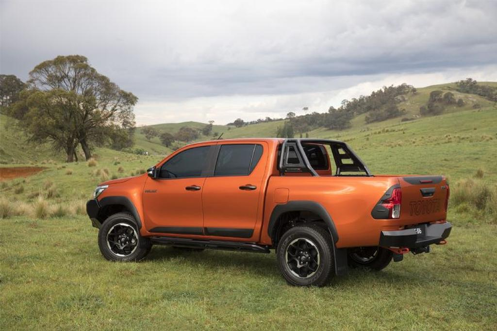 toyota reveals hilux rugged x rugged and rogue pricing. Black Bedroom Furniture Sets. Home Design Ideas