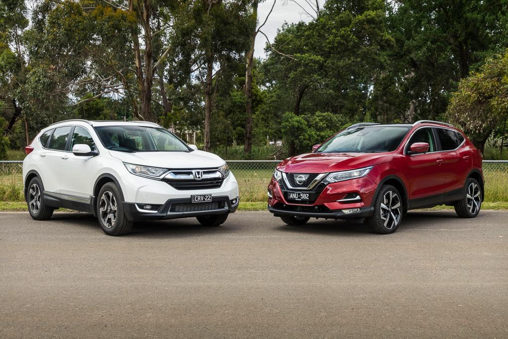 2018 Honda Cr V Vs 2018 Nissan Qashqai Comparison Gearopen