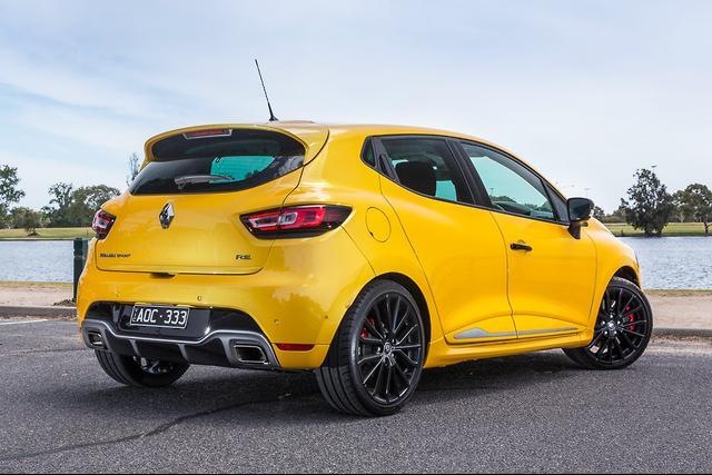 Renault Clio RS 2018 Review - motoring com au