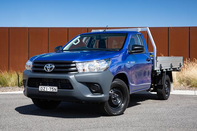 Toyota Hilux Workmate 2019 Review Motoring Com Au