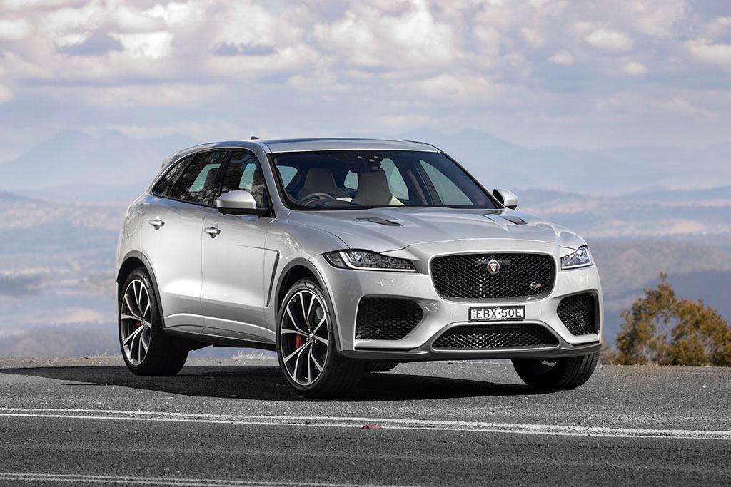 Jaguar F-PACE SVR escapes JLR model cull - motoring com au