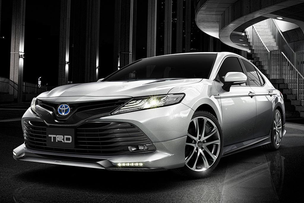 Toyota Reveals 2017 Camry Trd
