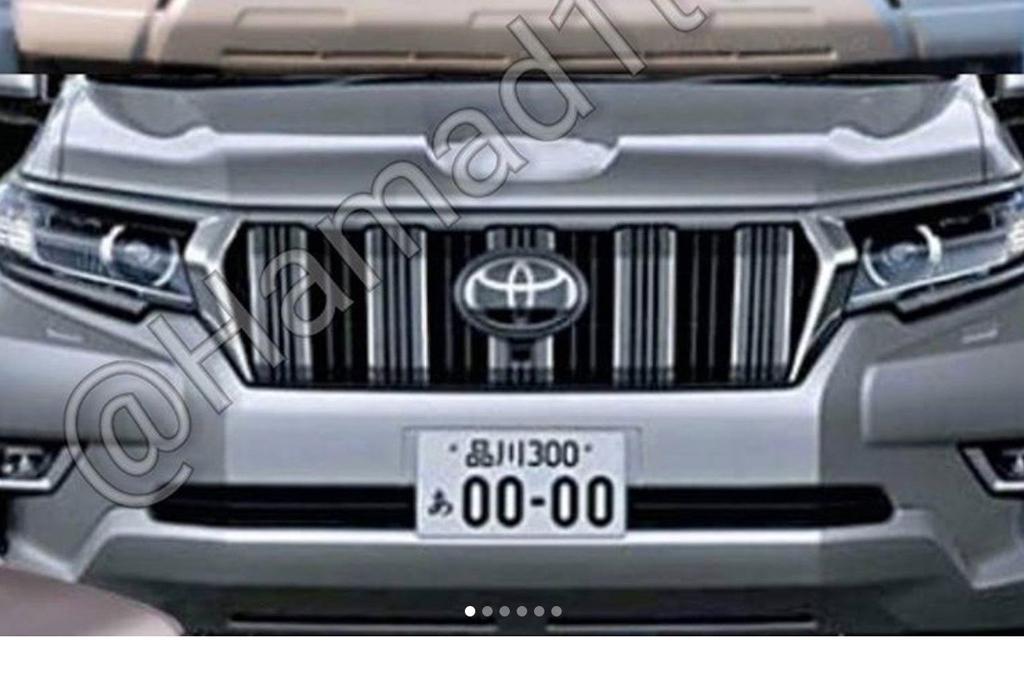 2018 toyota land cruiser prado. perfect toyota 2018 toyota landcruiser prado facelift leaked with toyota land cruiser prado