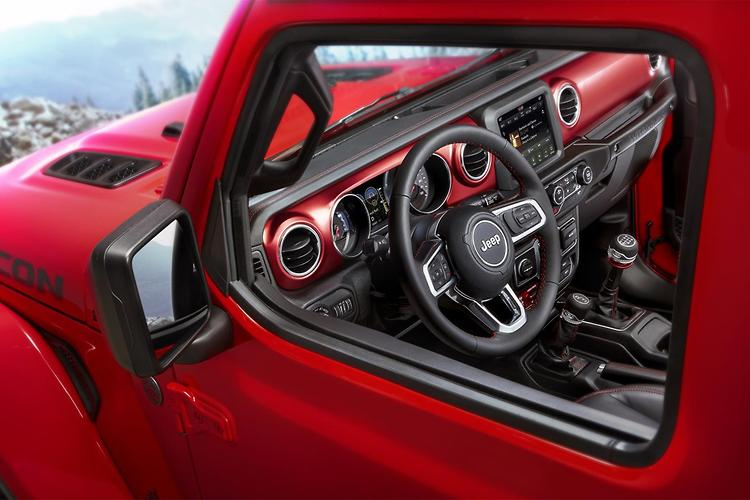 Jeep Wrangler Interior Design Exposed