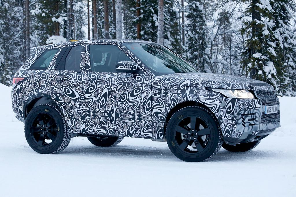 Spy Pics New Land Rover Defender Motoring Com Au