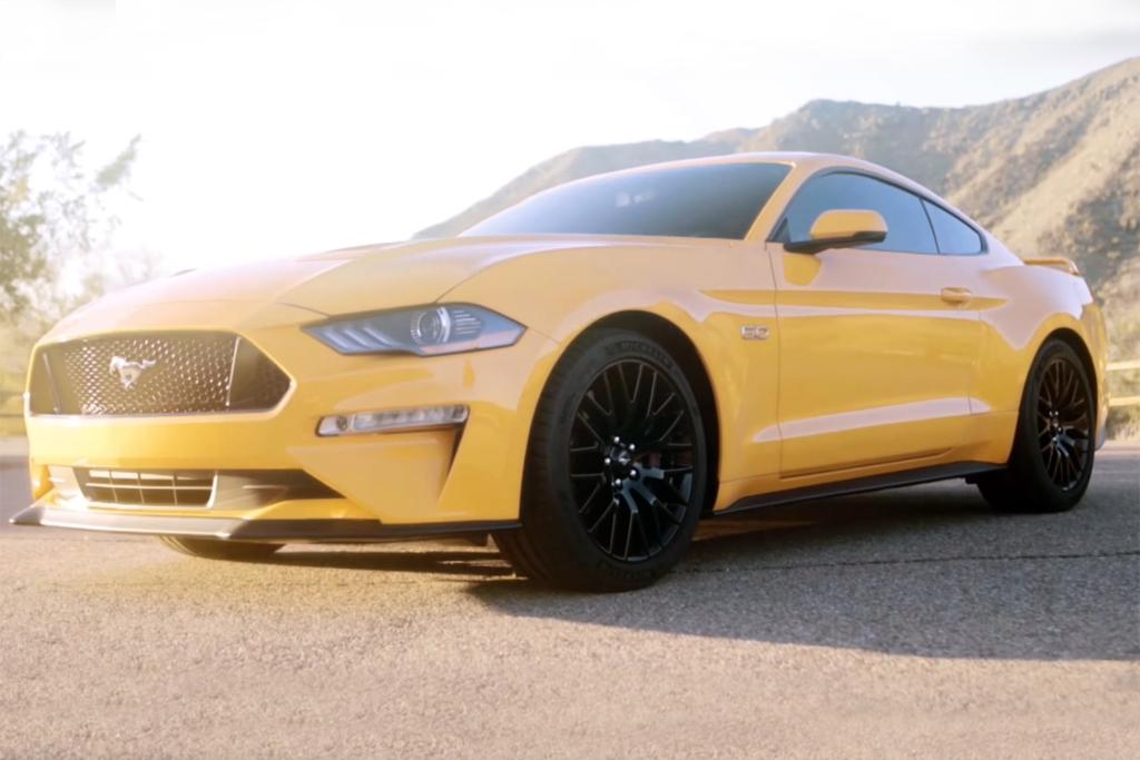 2018 Ford Mustang Leaked
