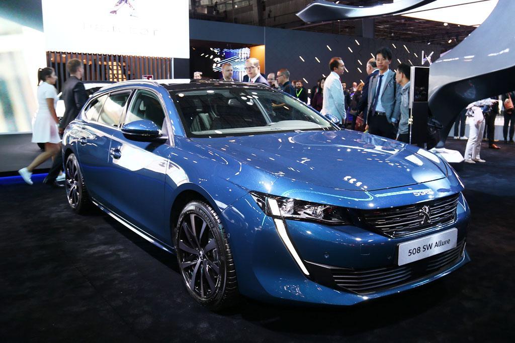Paris Motor Show Peugeot Australia Says Oui To 508 Wagon