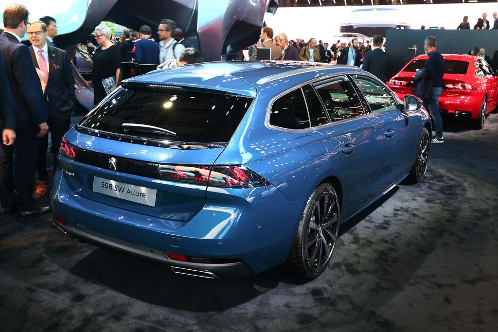 PARIS MOTOR SHOW: Peugeot Australia says 'oui' to 508 wagon