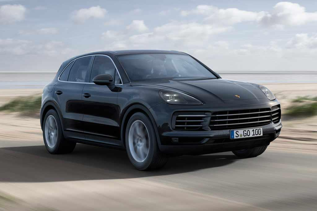 frankfurt motor show porsche renews cayenne. Black Bedroom Furniture Sets. Home Design Ideas