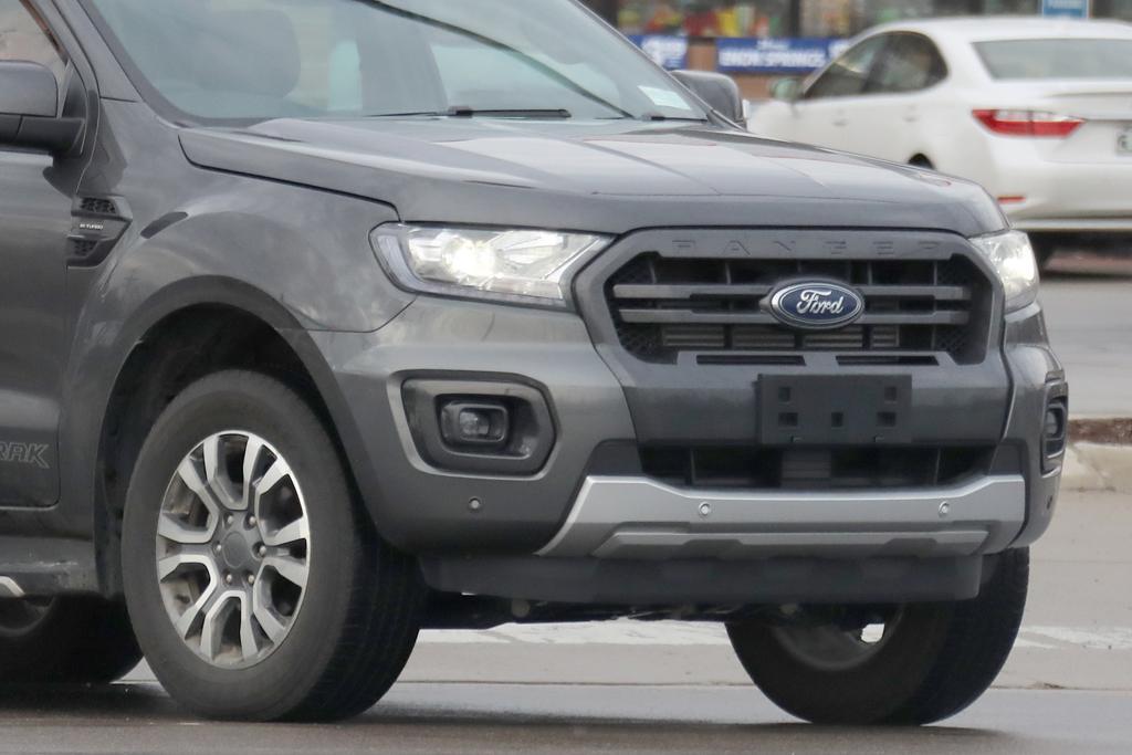 Ford Ranger Wildtrak Spied on Ford Ranger 3 0 Cylinder