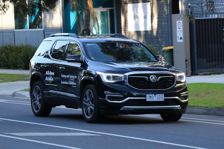 New 2019 Holden Acadia hits the road - motoring.com.au