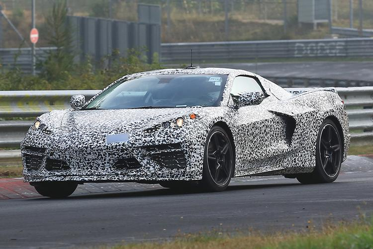 SPY PICS: Best look yet at 2020 Chevrolet Corvette ...