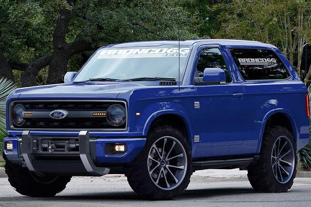 Ford Bronco no certainty for Australia - motoring.com.au