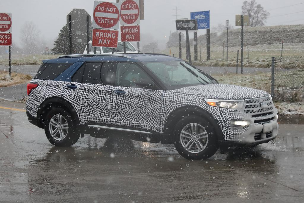 Spy Pics Next Gen Ford Explorer Caught In The Open Motoring Com Au