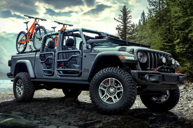 Jeep Gladiator Ute Unbeatable Off Road Motoring Com Au