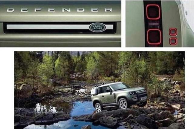 New Land Rover Defender leaked in full - motoring.com.au
