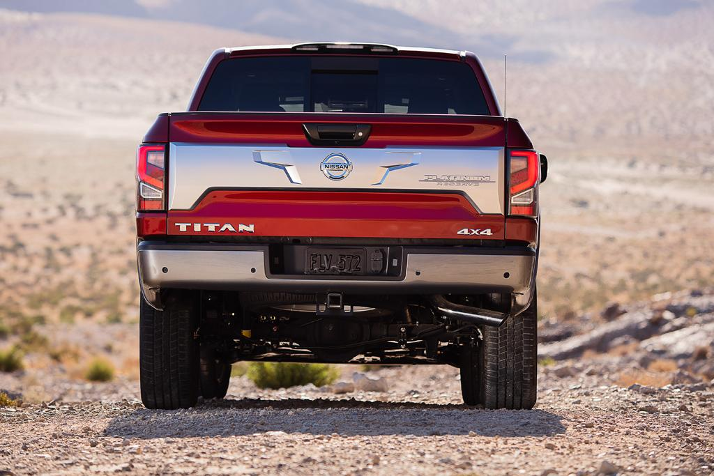 Upgraded Nissan Titan Could Come To Oz Motoring Com Au