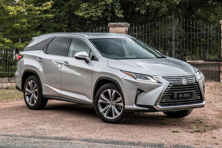 Lexus Launches Seven Seat RX L Au