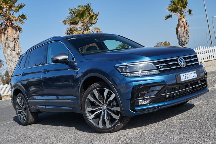 new volkswagen tiguan allspace to start around 40k. Black Bedroom Furniture Sets. Home Design Ideas