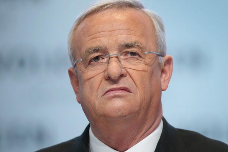 Former VW boss Winterkorn charged over diesel emissions scandal