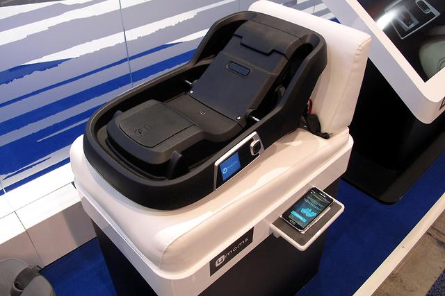CES 2016 Meet The Self Installing Child Seat