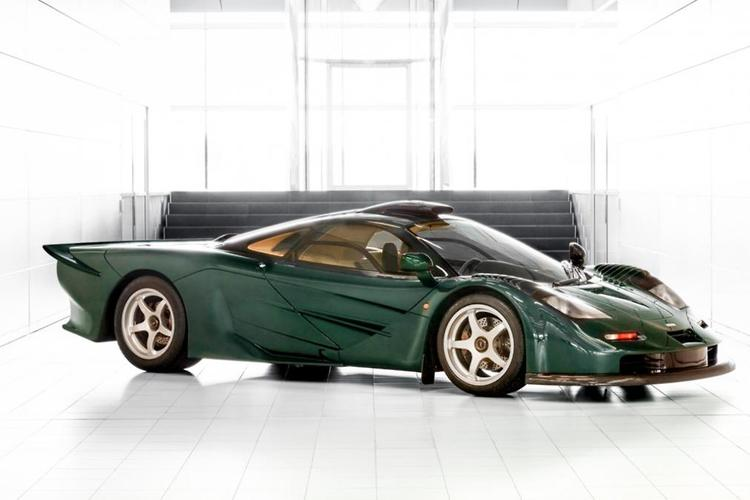 McLaren Builds Green 570S Inspired by the F1 GT Longtail