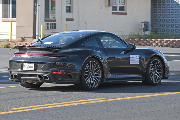 SPY PICS Next 2020 Porsche 911 Turbo S blows its cover