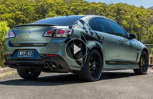 Holden Commodore SV6 2016 Review - motoring com au