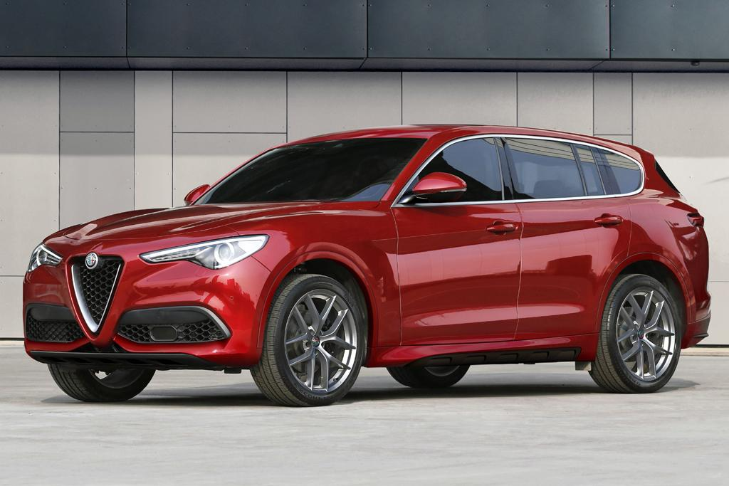 Alfa Romeo Readying Suv Onslaught Motoring Com Au