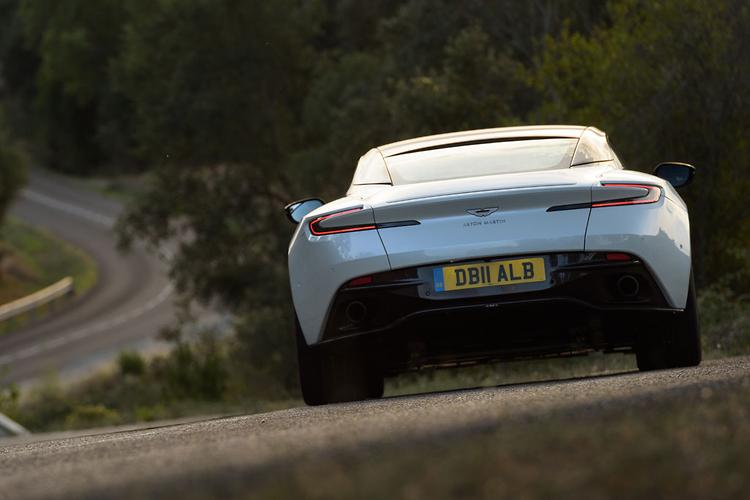 In The Evolution From V12 To V8, Aston Has Also Been Able To Give The  U0027junioru0027 DB11 A Sportier Feel. The Hardware Changes Include A New Rear  Upper Control ...