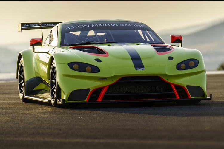 Aston Martin Racing Reveals Vantage GTE Racer
