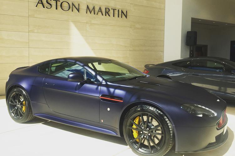 Aston Martin V8 Vantage S Red Bull Racing Edition Debuts