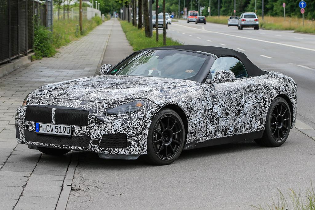 Spy Pics Bmw Z5 Xdrive Could Be In The Wings Motoring
