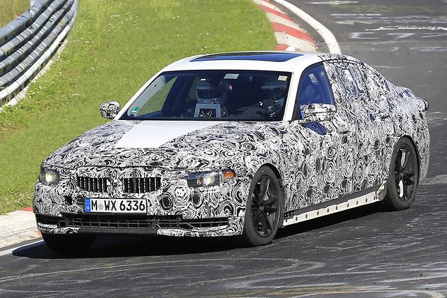 2018 bmw 535i. simple 535i spy pics 2018 bmw 3 series at the u0027ring and bmw 535i