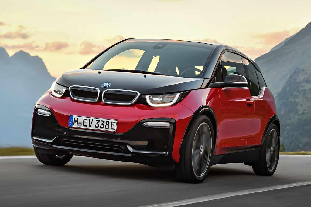 frankfurt motor show bmw upgrades i3 adds i3 s. Black Bedroom Furniture Sets. Home Design Ideas