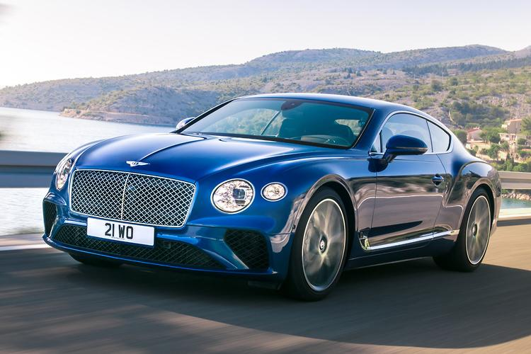 Check out the 2018 Bentley Continental GT