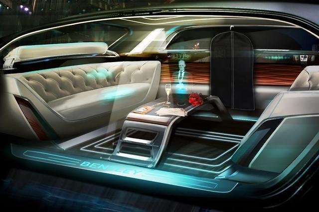 Marvelous Bentley Showcases Luxurious Vision Of Future Interior Design Interior Design Ideas Tzicisoteloinfo