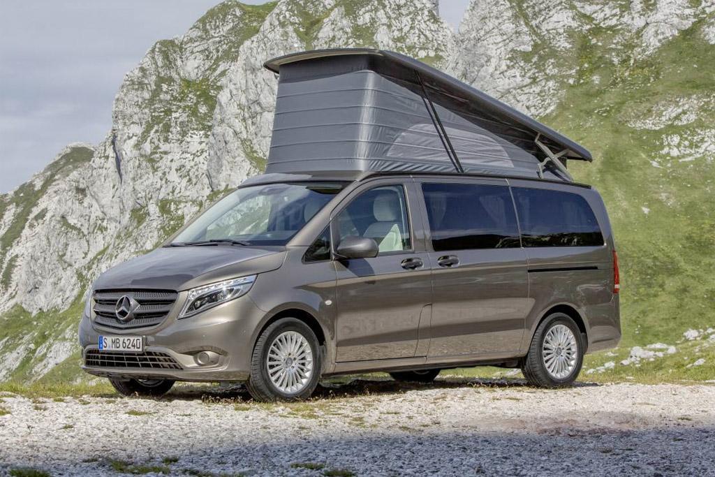 mercedes benz campervan coming. Black Bedroom Furniture Sets. Home Design Ideas