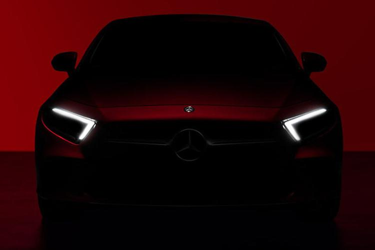 Mercedes-Benz teases new CLS with two photos