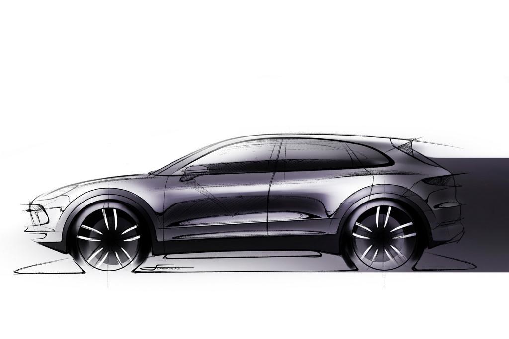 Porsche cayenne 2014 review motoring sleeker porsche cayenne teased sciox Image collections