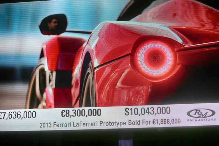 LaFerrari Aperta Auction Raises Nearly $10M For Charity