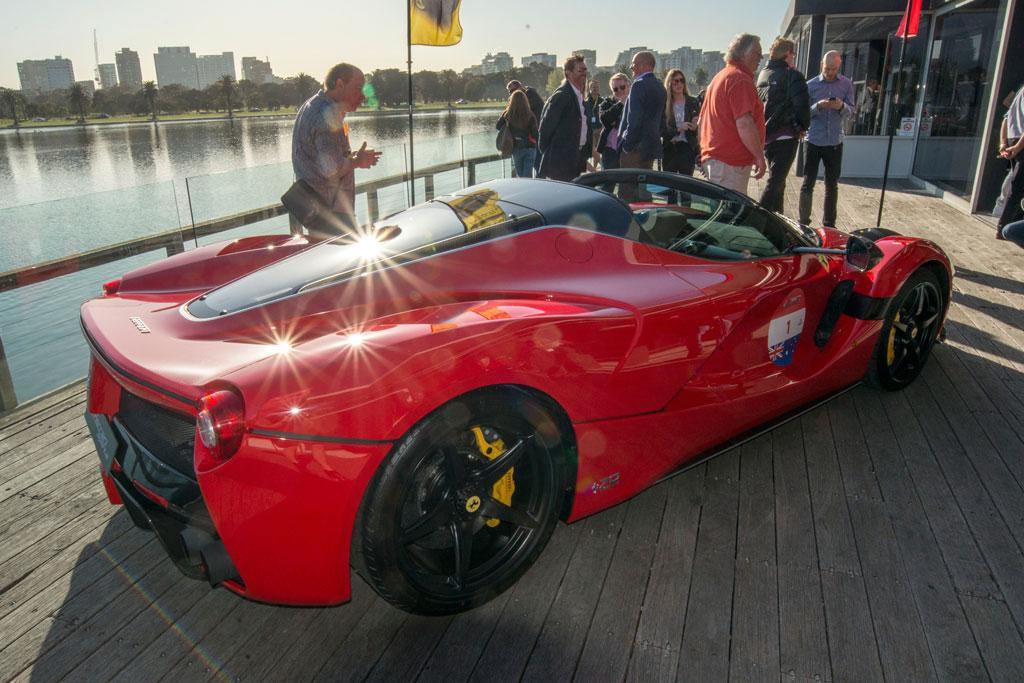 12million laferrari aperta hits australian roads. Black Bedroom Furniture Sets. Home Design Ideas