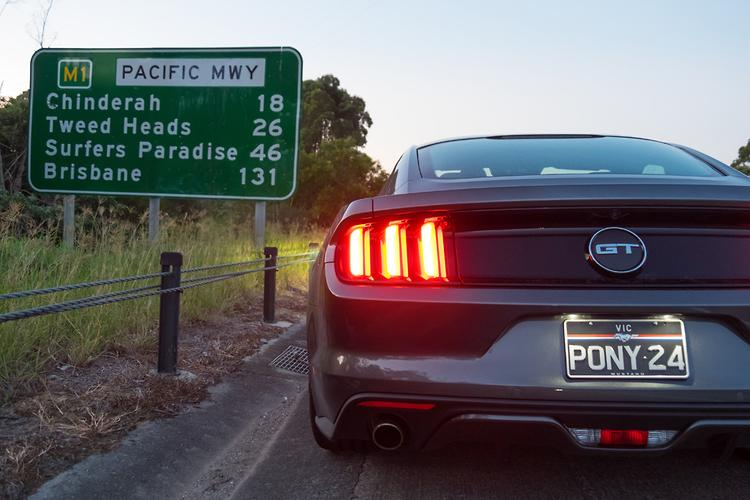 Ford Mustang Gt 060 Highway 1 Qld Motoring Com Au