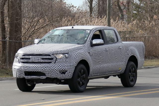 SPY PICS: 2019 Ford Ranger - motoring com au