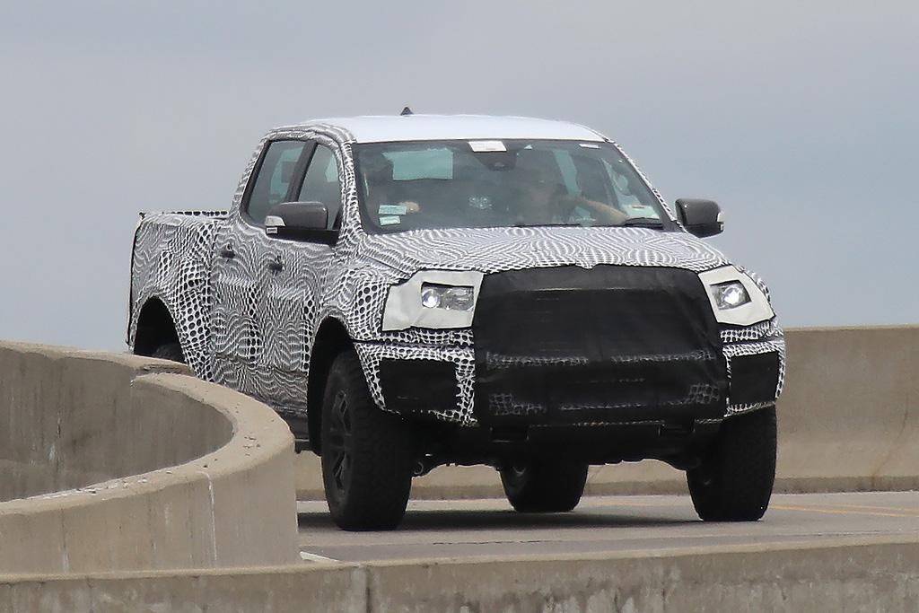SPY PICS Ford Ranger Raptor Breaks Cover